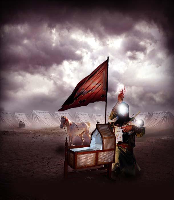شب هفتم محرم - شب حضرت علی اصغر(ع)